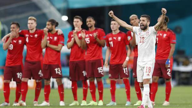 Spain beats Switzerland in penalties to reach Euro semi-finals