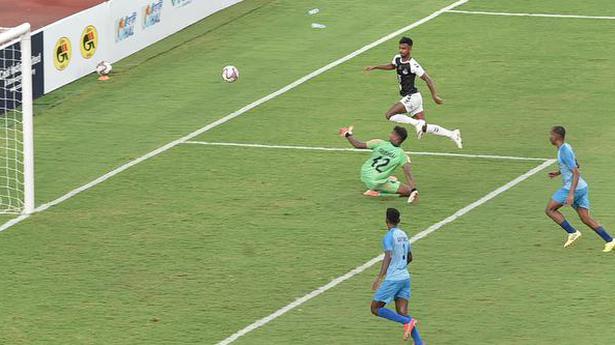 Mohammedan Sporting knocks out Gokulam Kerala