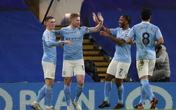 Man City surges to 3-1 win over Chelsea in Premier League