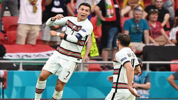 Ronaldo's brace powers Portugal past Hungary