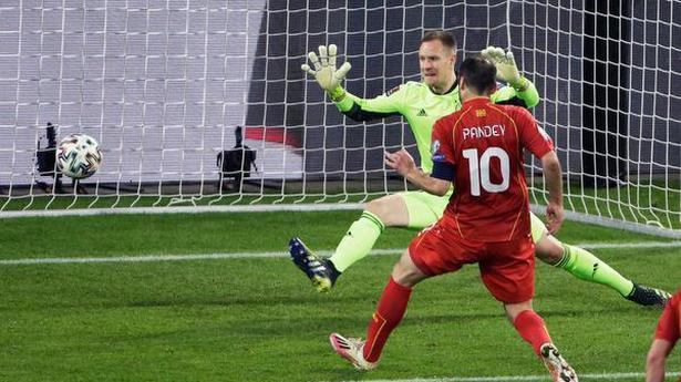 World Cup Qualifiers   North Macedonia ambushes Germany