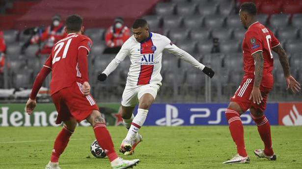 Mbappé stars as PSG beats Bayern 3-2 in Champions League quarterfinal