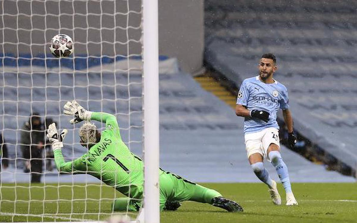 Man City ousts PSG to reach first Champions League final - The Hindu