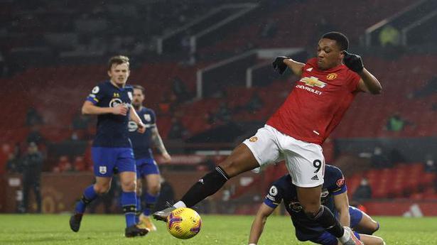 Manchester United hit nine goals past nine-man Southampton
