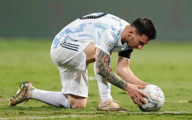 Argentina looks to Messi to deliver