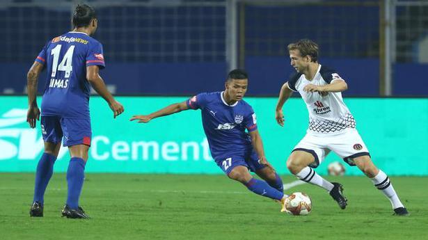 Indian Super League   Steinmann's strike helps SC EB shock BFC