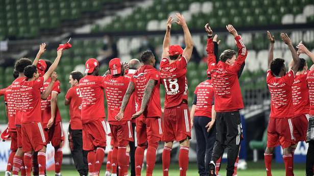 Bundesliga   Bayern wins eighth straight crown