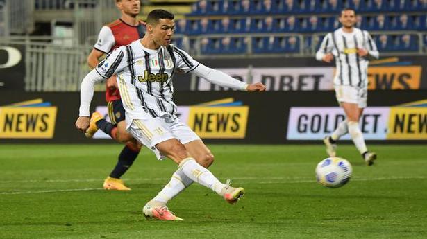 Euro Leagues | Juventus rides on Ronaldo's 'perfect hat-trick'