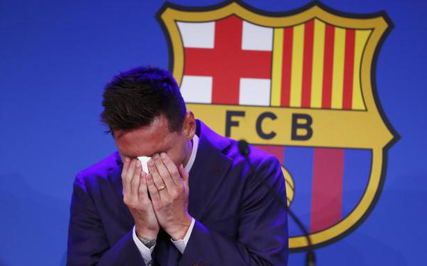 Emotional Messi confirms Barcelona exit and 'possibility' of joining PSG