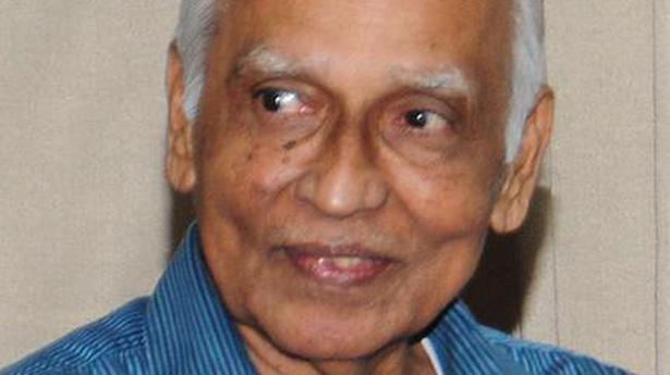 O. Chandrasekharan passes away