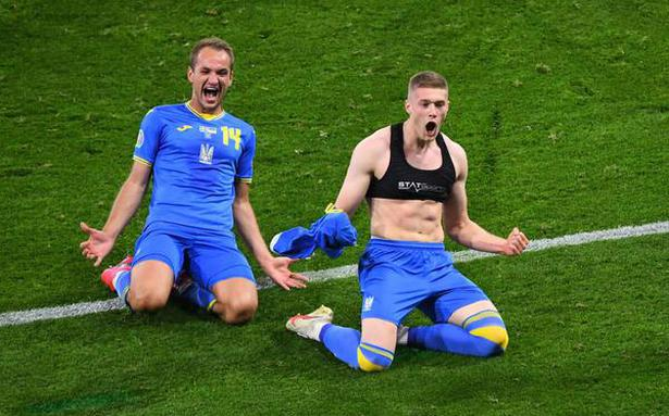 Euro 2020   Ukraine scores late in extra time to beat Sweden