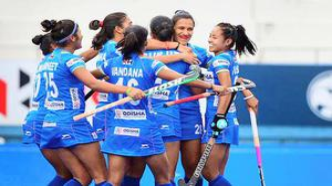 Indian women hold Australia