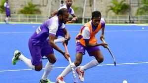 Indian men take on Malaysia