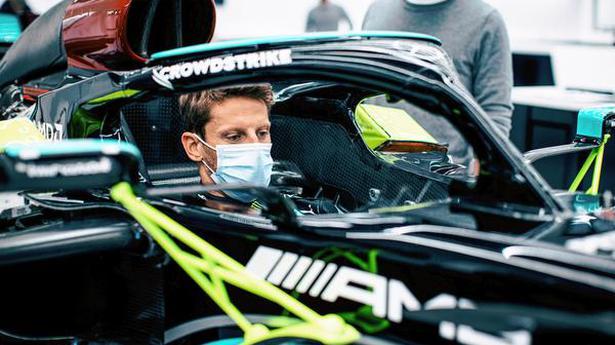 Romain Grosjean to return with one-off Mercedes test