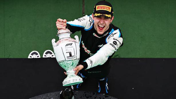 Esteban Ocon drives to a maiden victory