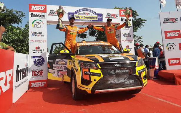 INRC | Gill takes crown with a round to spare