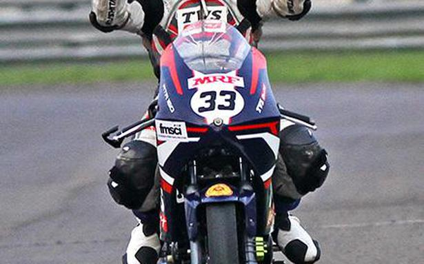 Ahamed leads TVS Racing to double one-two finish