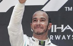 'My best year' ever, says Lewis Hamilton