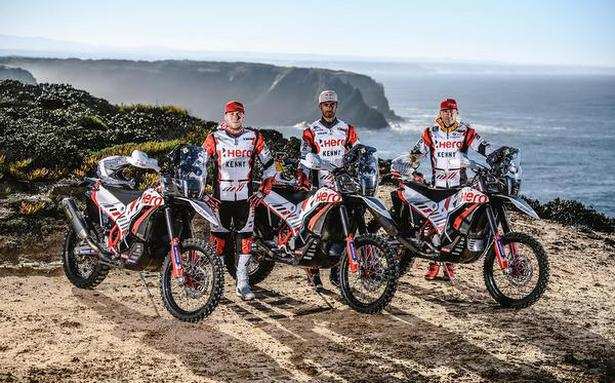 Team Hero all set to take on the sands of Arabia