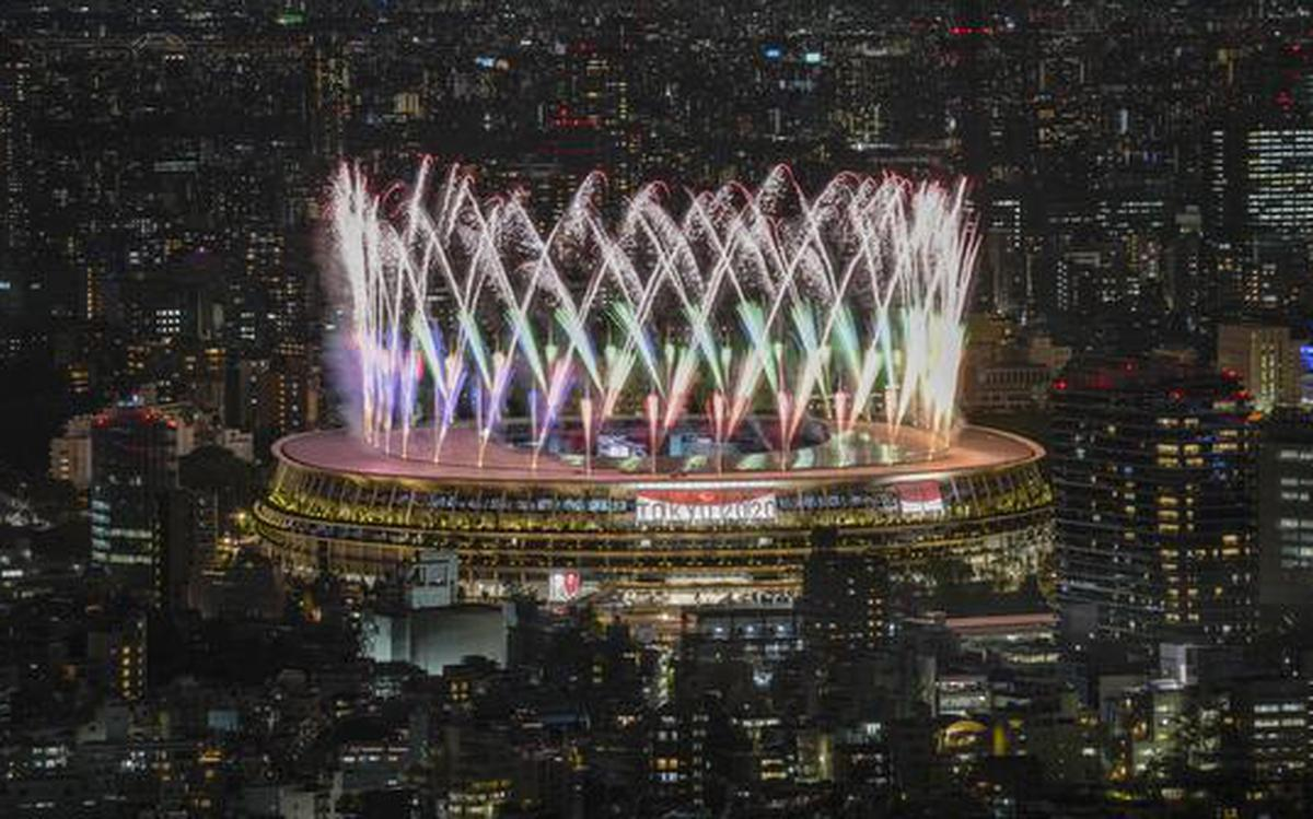 Fireworks mark start of Paralympic Games in Tokyo