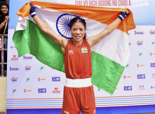 Image result for mary kom with medal