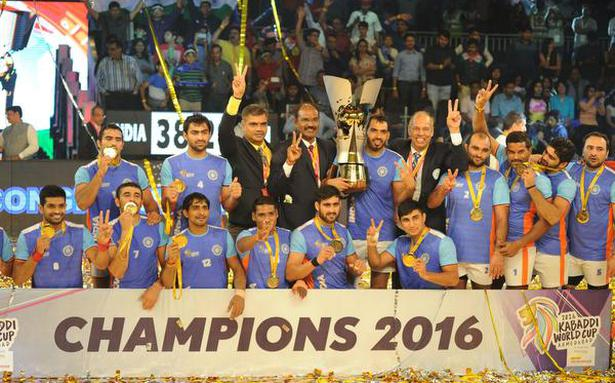 2019 World Kabaddi Cup to be held from December 1 to 9 - The Hindu