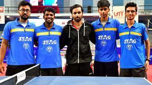 South Zone table tennis: Comeback triumph for Telangana men