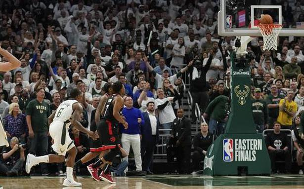 NBA Eastern Conference: Milwaukee Bucks down Toronto Raptors in opener