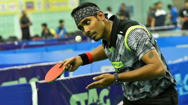 World Table Tennis Contender | Sharath survives, Sathiyan falls