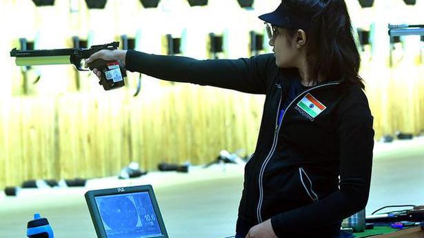 National shooting championships: Esha shoots grand treble