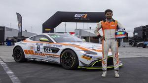 Racer Akhil Rabindra's journey from go-karting lanes to Aston Martin Academy