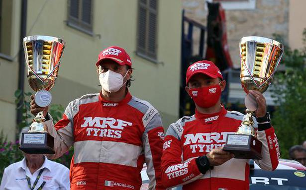 Double podium finish for Team MRF Tyres