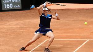 Italian Open | Britain's Johanna Konta stuns Kiki Bertens in semifinals