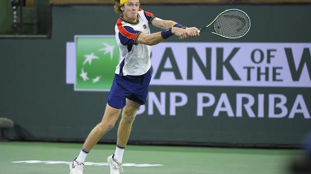 Russian Rublev seals fifth ATP Finals singles spot