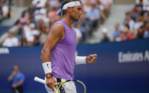 Nadal breezes into U.S. Open fourth round