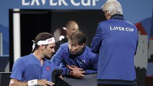 Federer delights home crowd
