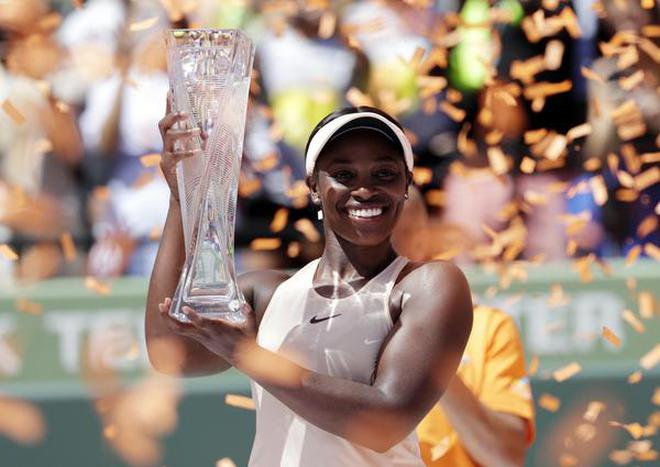Image result for sloane stephens miami open