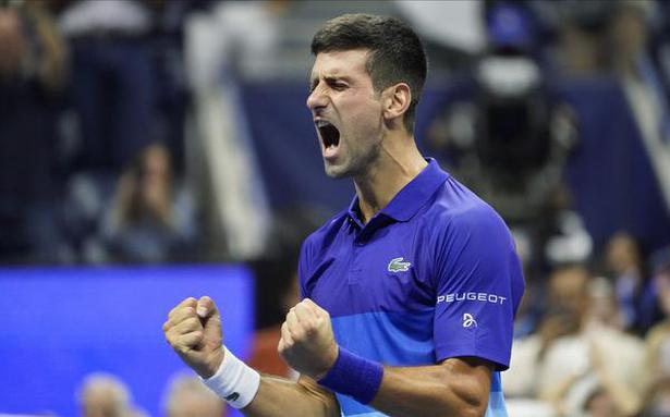 Djokovic into U.S. Open final, to play for record 21st Grand Slam