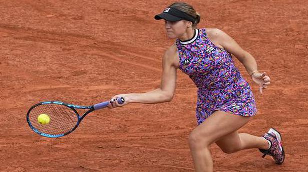 Sofia Kenin out of U.S. Open