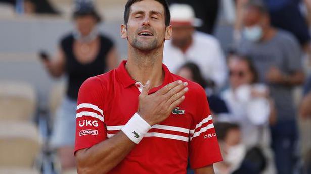Djokovic beats Tsitsipas to win French Open title