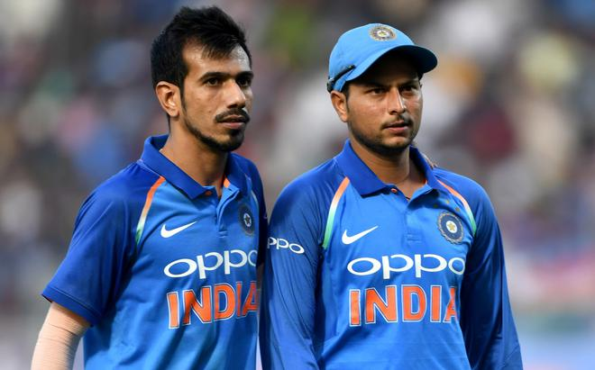Image result for chahal and kuldeep