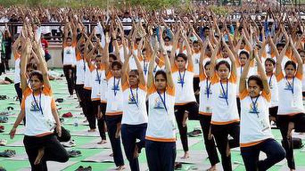 Yoga celebrations, the U.N. way - IN SCHOOL - The Hindu