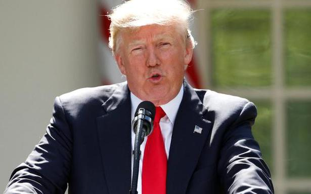 Trump again blames India, China for his withdrawal from Paris climate deal