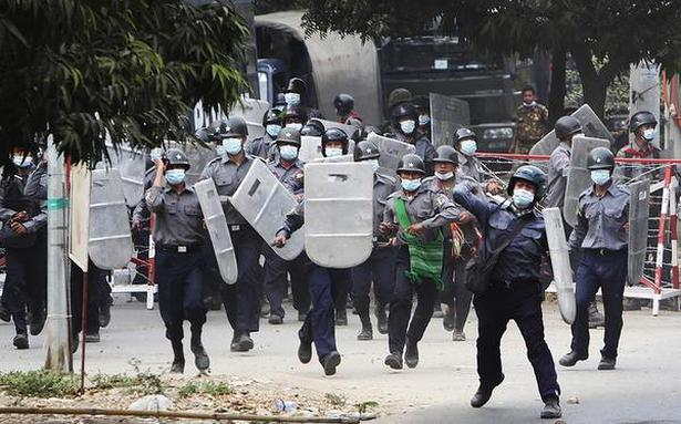 Myanmar forces fire on funeral; crackdown continues