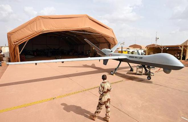 Image result for Drone base in Niger