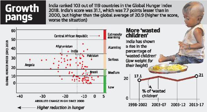 1 in 5 Indian children 'wasted', says GHI