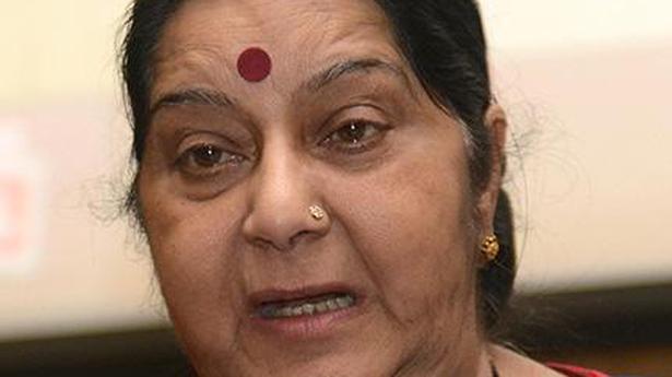 Sushma Swaraj arranges ticket to Telangana woman facing torture in Pakistan