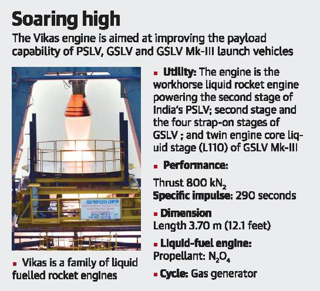 Upgraded Vikas engine — with more thrust — will boost ISRO's rockets