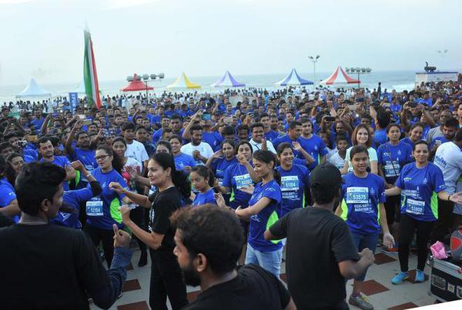 Image result for Navy marathon in vizag