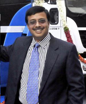 Ashok Leyland CEO and MD Vinod. K. Dasari.